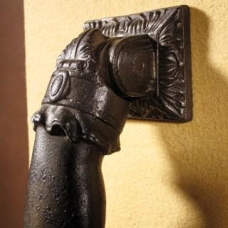 An Original Victorian Period Cast iron Door Knocker