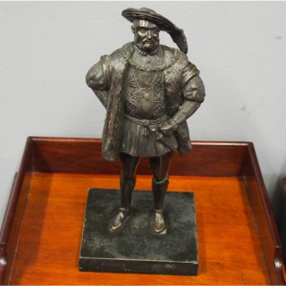Cast Bronze of King Henry VIII
