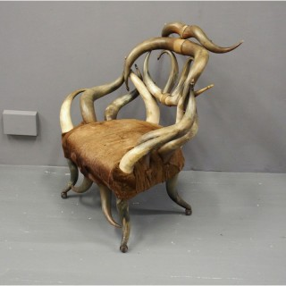 American Horn Chair by Wenzel Friedrich