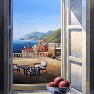 View with the pomegrante