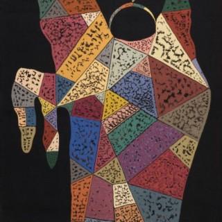 Wassily Kandinsky (Russia, 1866 - 1944) Sur Fond Noir, c.1940