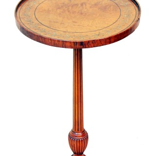 Early 20th Century English Satinwood Kettle Stand