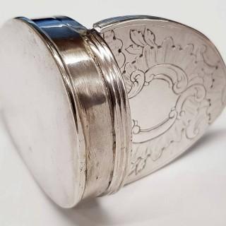George III Silver Snuff Box