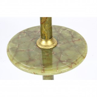 Antique Onyx and Ormolu Floor Standard Lamp Louis Revival circa 1900