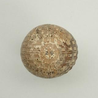 Vintage Golf Ball, 'Clincher Cross' 29