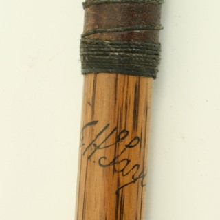 Antique Hickory Golf Club, J. H. Taylor, Mashie C.1920