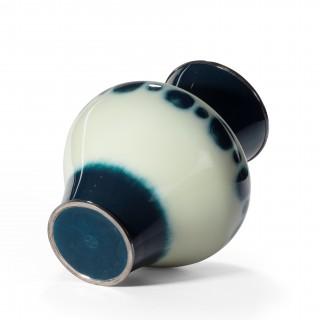A Showa period cloisonné enamel vase Japanese, c1980.