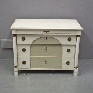 Swedish Empire Style Painted Chest of Drawers