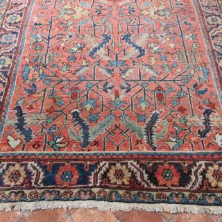 Rare Heriz carpet
