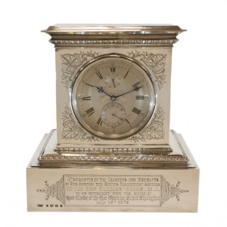 8-day mantel chronometer by Parkinson & Frodsham