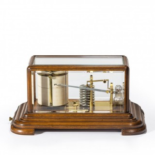 19th century Mahogany barograph by Cary