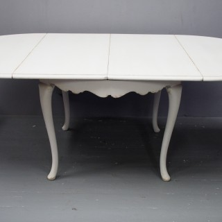 Swedish 19th Century Painted Dining Suite