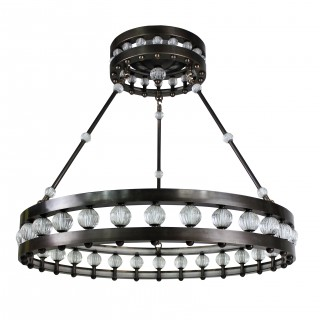 LARGE DECO STYLE CHANDELIER