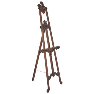 Victorian period wood artist's easel