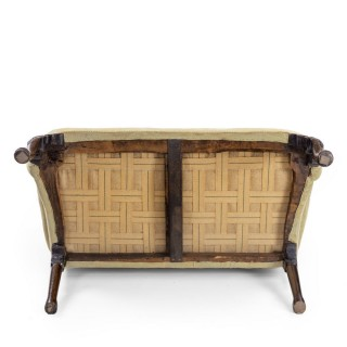 An Early George II Walnut Settee