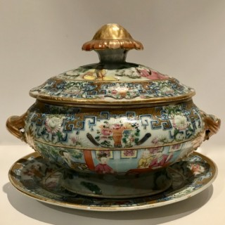 Cantonese Tureen and Stand