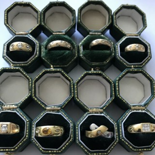 Selection of Gold and Diamond Rings