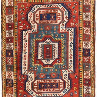 Antique Sewan Kazak rug, South-West Caucasus