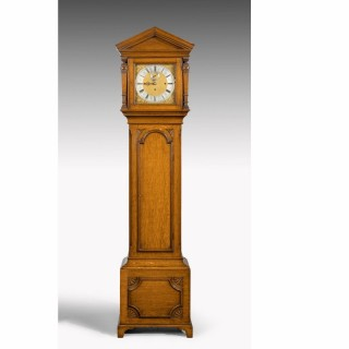 EARLY 20TH CENTURY LONGCASE CLOCK BY MAPLES