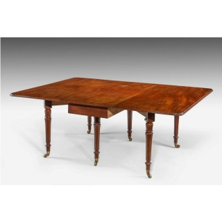 Regency Period Mahogany Dining Table.