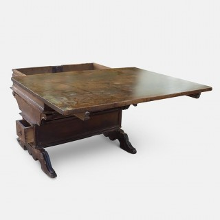 Renaissance Swiss Bankers or Merchants Table, circa 1580