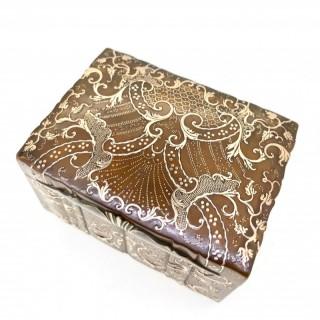 Eighteenth Century Pique Box