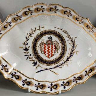 Late 18th Century Worcester Dessert Service