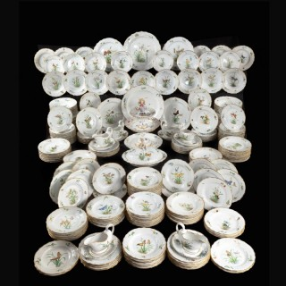 The 248 Piece Royal Danish Porcelain