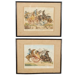 Pair of Henry Aitken Coloured Etchings
