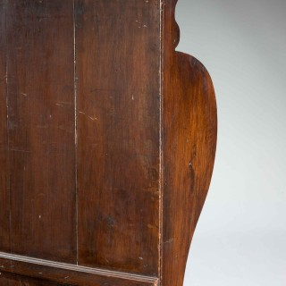 George III Period Stained Pine Settle