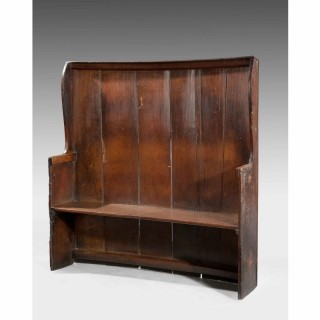 George III Period Oak Settle