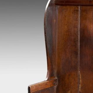 George III Period Oak Settle