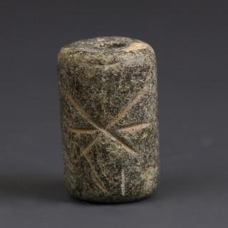 Near Eastern Cylinder Seal with Geometric Design