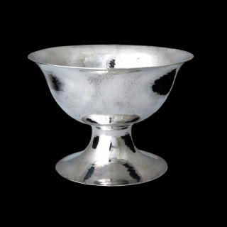 A Guild of Handicraft silver footed bowl or centrepiece, CRA mark