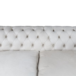 Late Victorian two-seat Chesterfield sofa 'to be coloured on request'