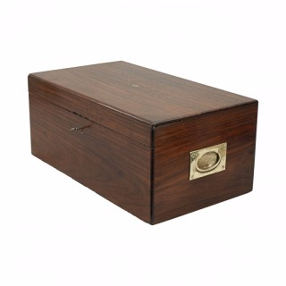 Rosewood deed box