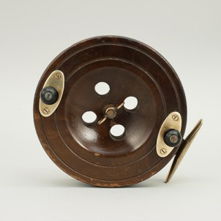Wooden Fishing Reel