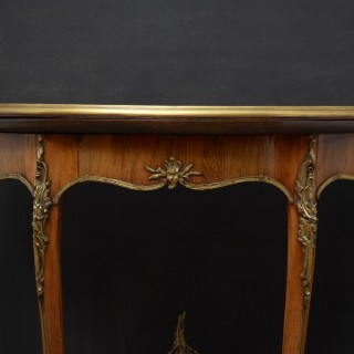 French Rosewood Card Table / Hall Table