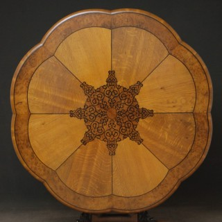 Exceptional Victorian Oak Centre Table