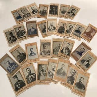 Collection of Japanese Cigarette Cards