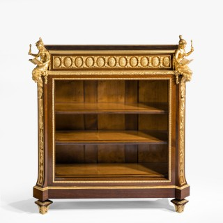 Gilt Bronze Mounted Library Bookcase Lectern of the Napoleon III Period