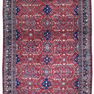 Large Antique Mahal carpet