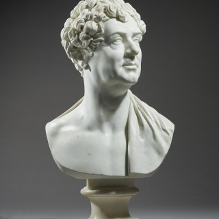Royal portrait bust of King George IV