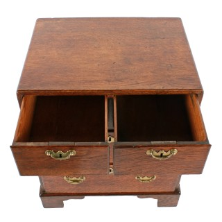 Small 18th Century Oak Bedside Chest