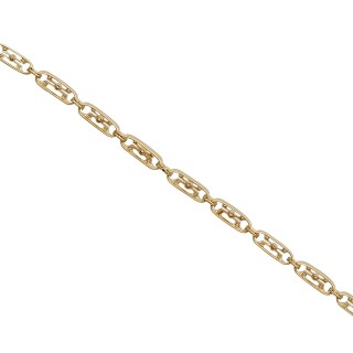 1.05ct Diamond and 12ct Yellow Gold, Platinum set Bracelet - Antique Circa 1910