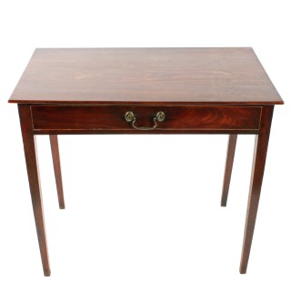 Georgian One Drawer Side Table