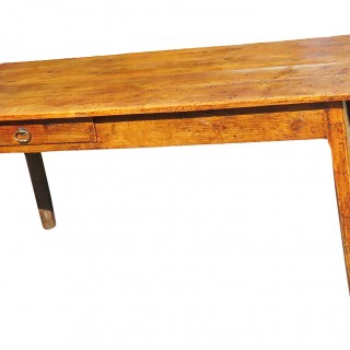 Early 19th Century French Chestnut Farmhouse Dining Table