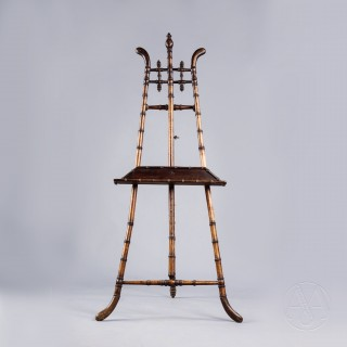 A Stained Bamboo Easel