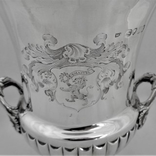 Quality George IV Emanuel presentation goblet London 1826 William Eley