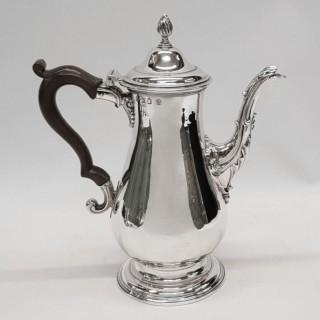 George III Silver Coffee Pot